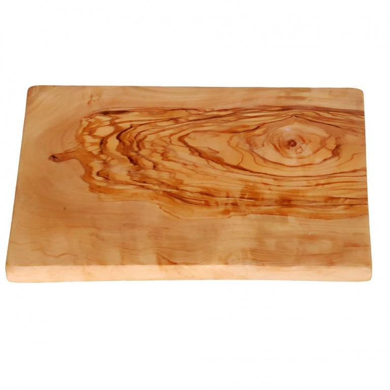 Olive wood cutting board rectangular size M K114 2